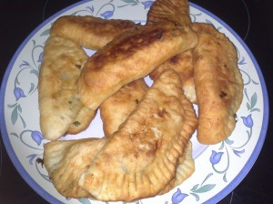 empanadillas fritas
