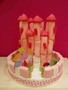 tarta chuches castillo ben y holly